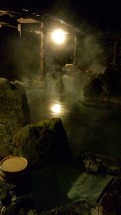 露天風呂木立の湯